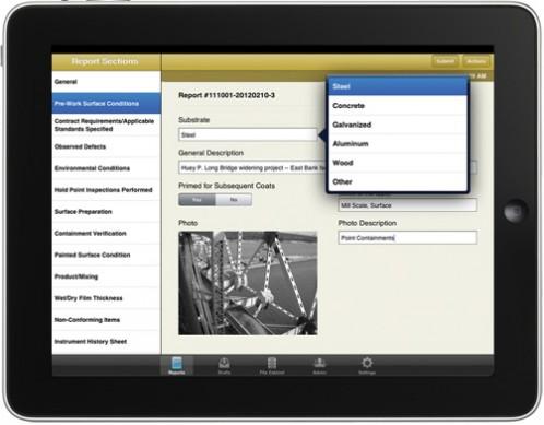 TruQC app - cloud-based job-site documentation for the iPad