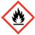 Flame OSHA hazard icon
