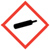 Gas cylinder OSHA hazard icon
