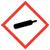 Gas cylinder OSHA hazard icon