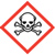 Skull and crossbones OSHA hazard icon