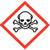 Skull and crossbones OSHA hazard icon