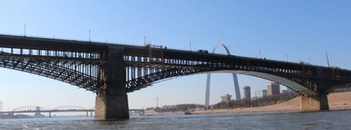 Eads Bridge St. Louis restoration