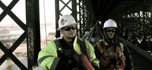 Eads Bridge restoration – job site documentation