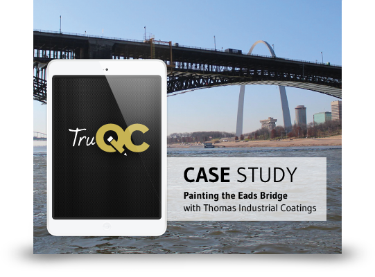 TruQC case study with Thomas Industrial Coatings