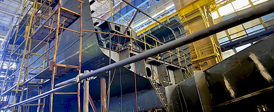 Shipbuilding industry marine coatings
