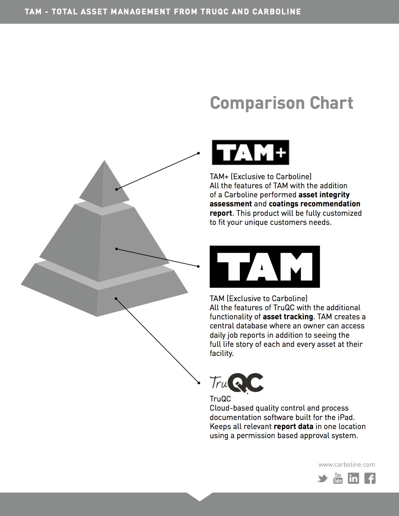 TAM Comparison Chart