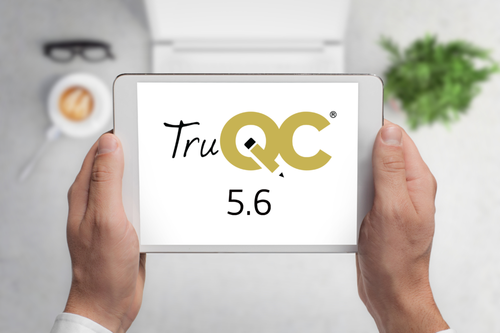 TruQC 5.6 is available in the App Store!
