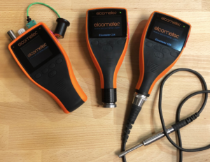 TruQC pairs with a variety of Elcometer gauges.