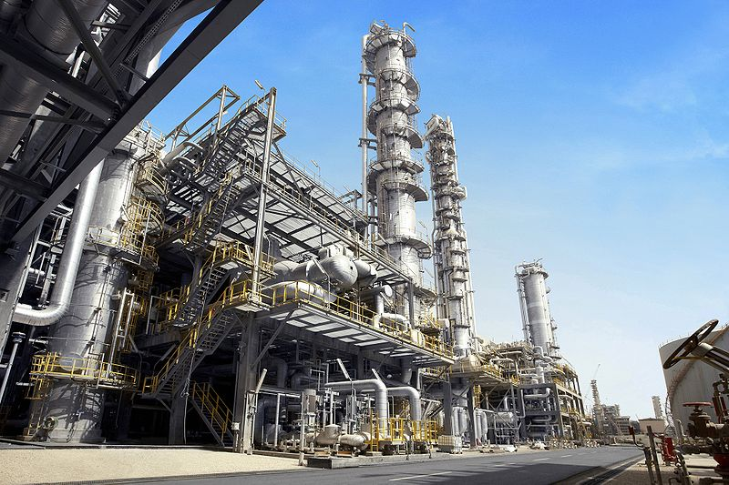 Oil refinery flange turnaround - CITGO